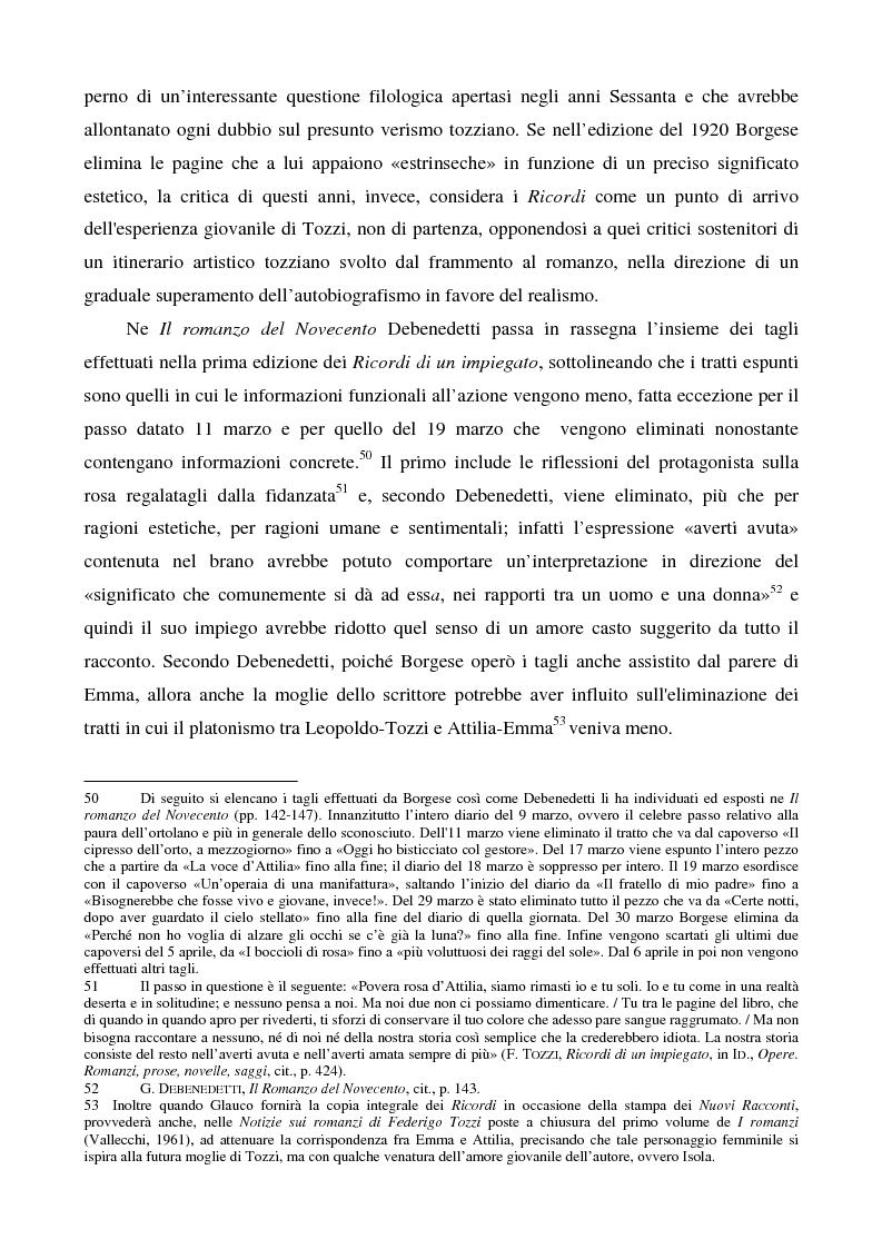 Anteprima della tesi: Letture psicanalitiche della narrativa di Tozzi, Pagina 15