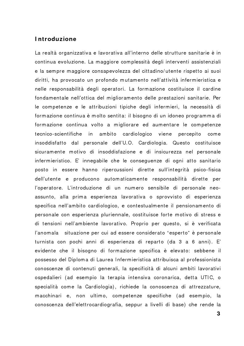 Anteprima della tesi: Nuove frontiere nella formazione in ambito cardiologico, Pagina 1