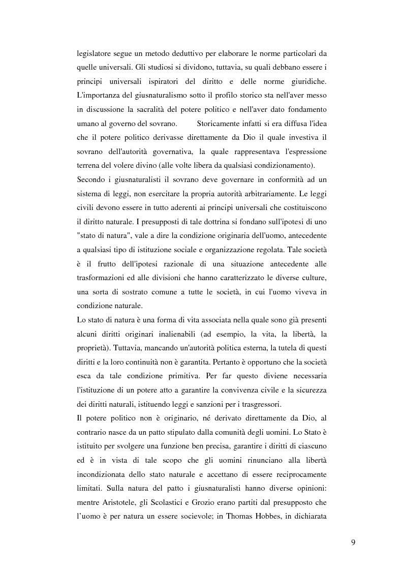 Estratto dalla tesi: Dalla libertà al proibizionismo - Aspetti filosofici, politici e sociali