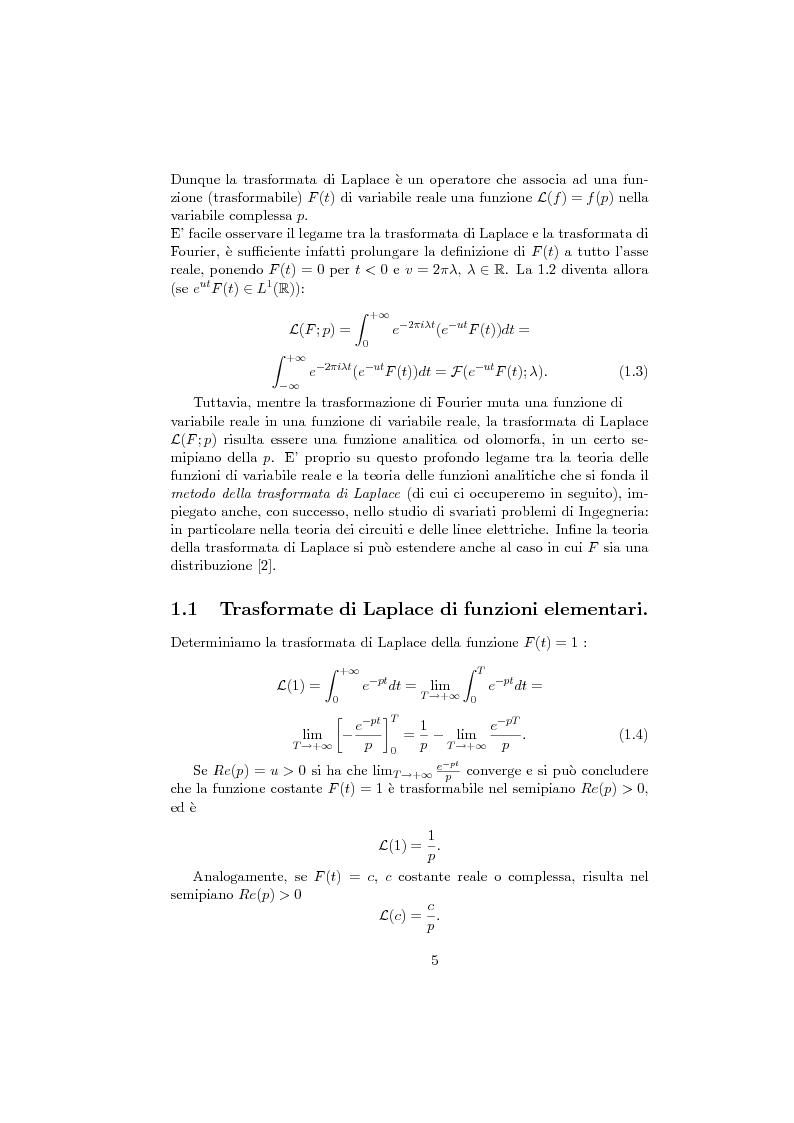 Anteprima della tesi: Poli e zeri delle funzioni meromorfe nella teoria dei segnali, Pagina 2