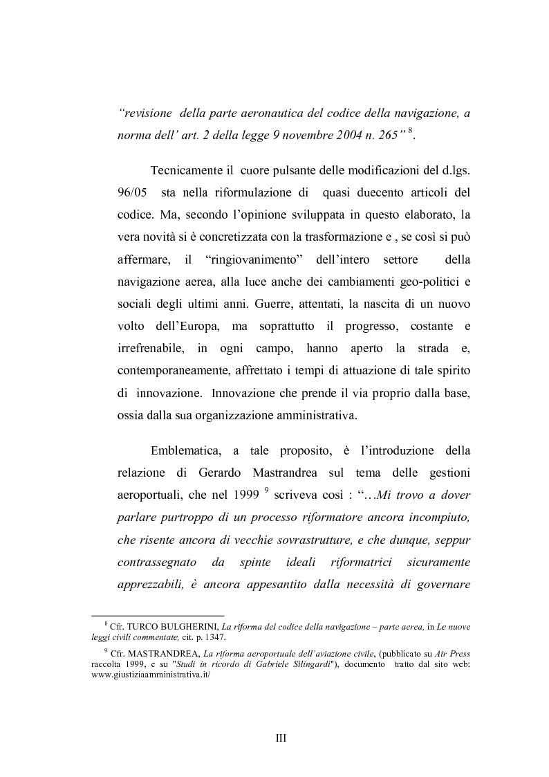 Anteprima della tesi: L'amministrazione della navigazione aerea, Pagina 3