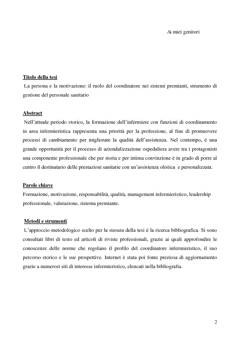 La persona e la motivazione il ruolo del coordinatore nei for Strumento di progettazione di mobili online