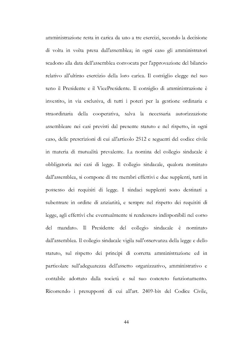 Estratto dalla tesi: Aspetti normativi ed organizzativi della Cooperazione agricola in Sicilia