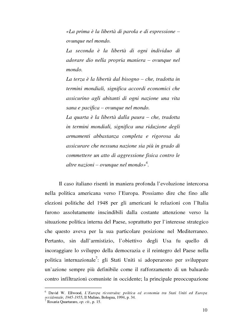 Anteprima della tesi: Agli albori del Piano Marshall: l'UNRRA in Italia, Pagina 3