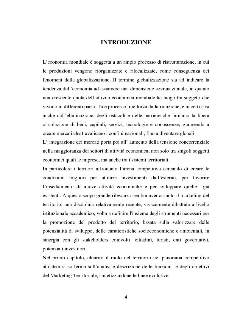 Anteprima della tesi: La comunicazione nelle strategie di promozione territoriale: l'esperienza torinese, Pagina 1