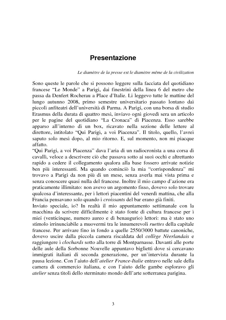 Anteprima della tesi: L'inviato speciale - Caratteristiche di una razza privilegiata, Pagina 1