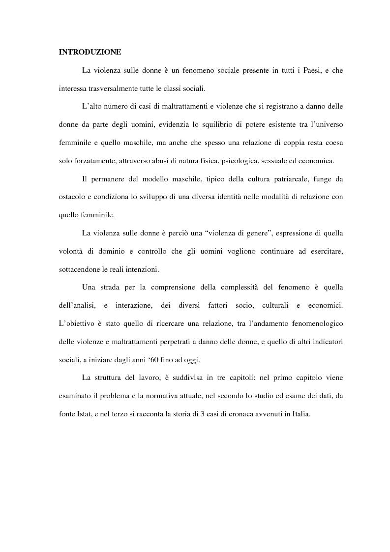 Inhaltsverzeichnis Zum Ausdrucken Schule: Studio Dell'evoluzione Delle Violenze Sulle Donne, Dagli