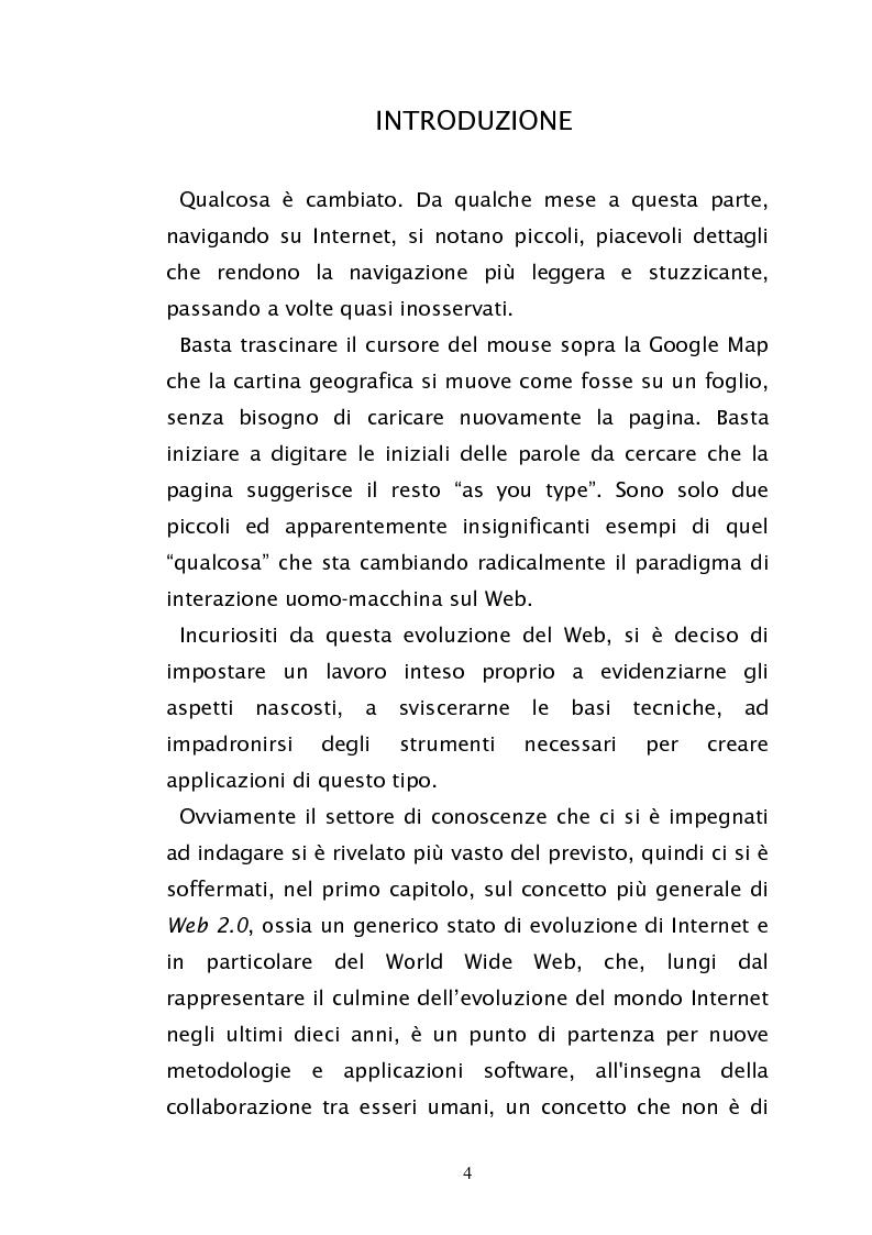 Google Web Toolkit e Ajax: un sito web per la gestione degli affitti - Tesi di Laurea