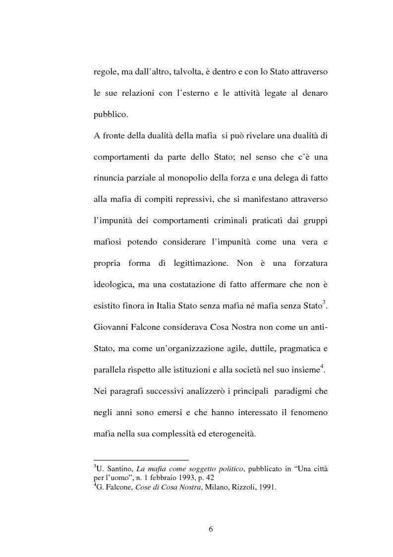Anteprima della tesi: Sistemi comunicativi all'interno di Cosa Nostra, Pagina 4
