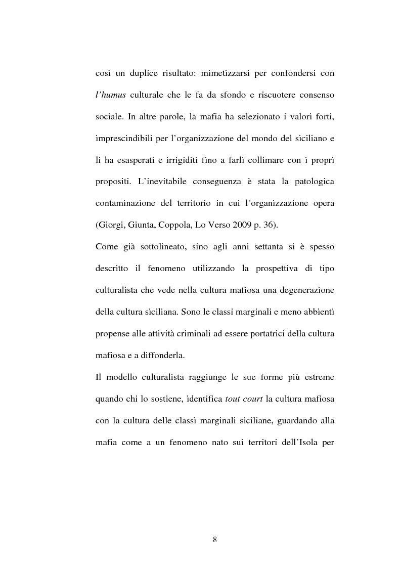 Anteprima della tesi: Sistemi comunicativi all'interno di Cosa Nostra, Pagina 6