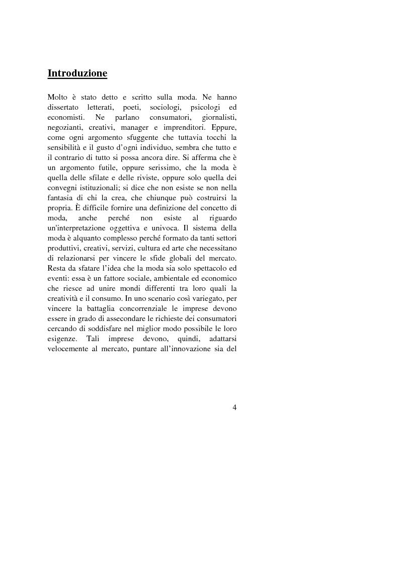Il Fashion Marketing: strumenti e strategie, due colossi a confronto: Zara e Benetton - Tesi di Laurea