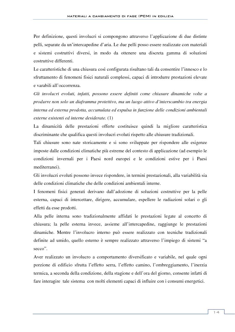 Anteprima della tesi: Materiali a cambiamento di fase in edilizia (PCM) - Sperimentazioni sull'involucro a blocchi portanti e su rivestimenti ad intonaco, Pagina 8