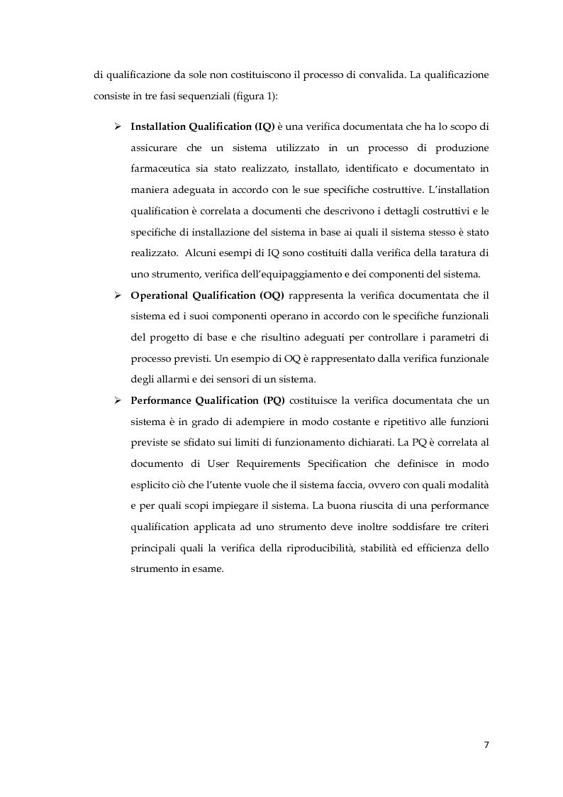 Anteprima della tesi: Validazione del test rapido di sterilità su prodotti per terapia cellulare all'interno di una cell factory ospedaliera, Pagina 6