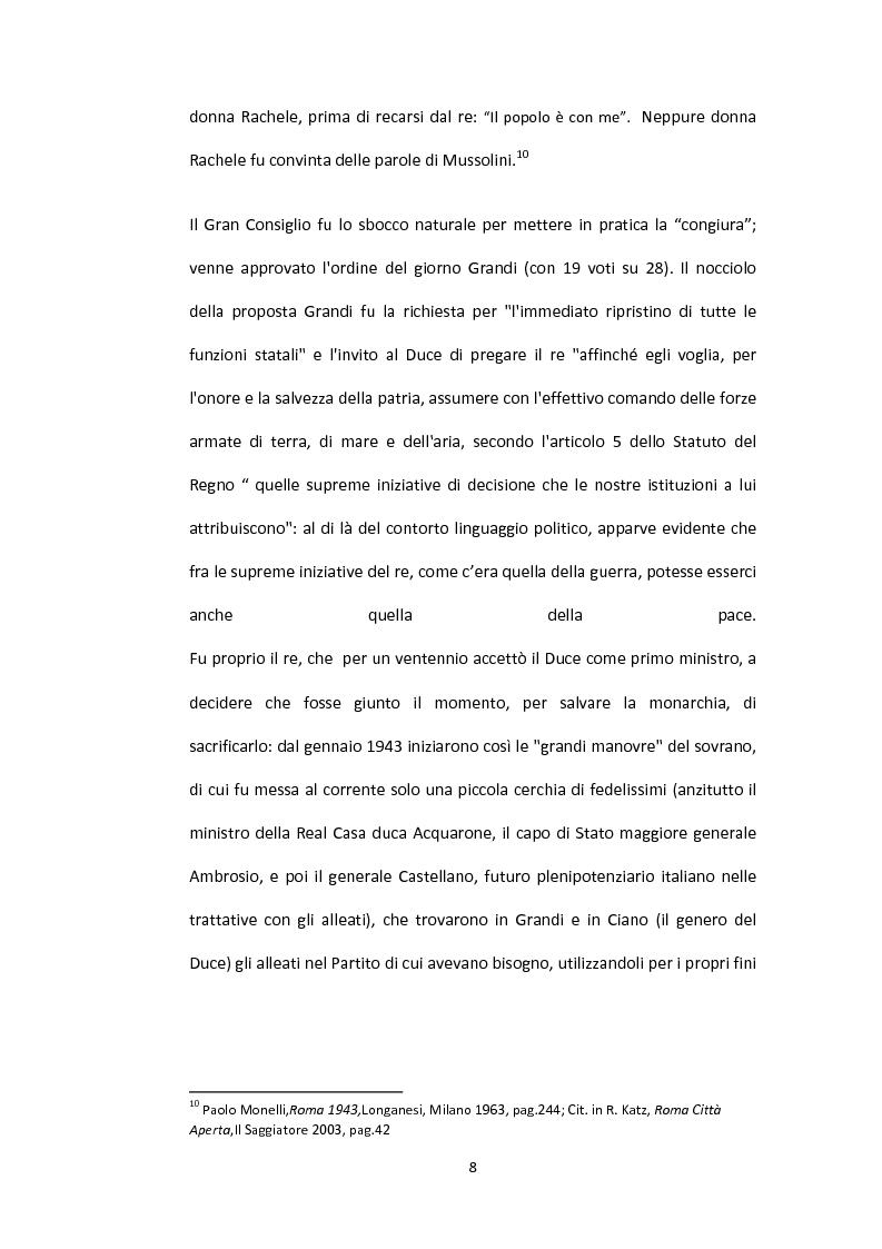 Anteprima della tesi: La situazione alimentare a Roma durante l'occupazione nazista: microstoria di Valle Aurelia, Pagina 3