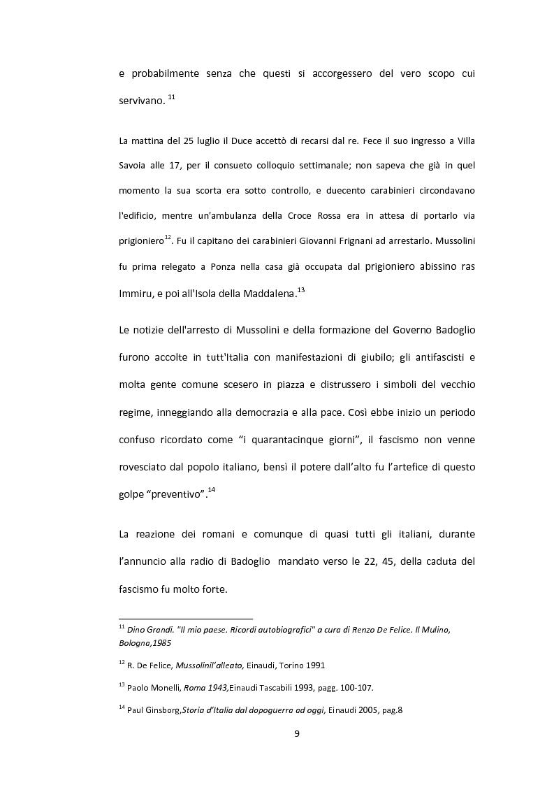 Anteprima della tesi: La situazione alimentare a Roma durante l'occupazione nazista: microstoria di Valle Aurelia, Pagina 4
