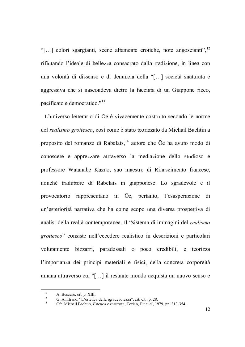 Anteprima della tesi: Il percorso letterario di Ōe Kenzaburō tra realtà, storia e ricerca letteraria, Pagina 7