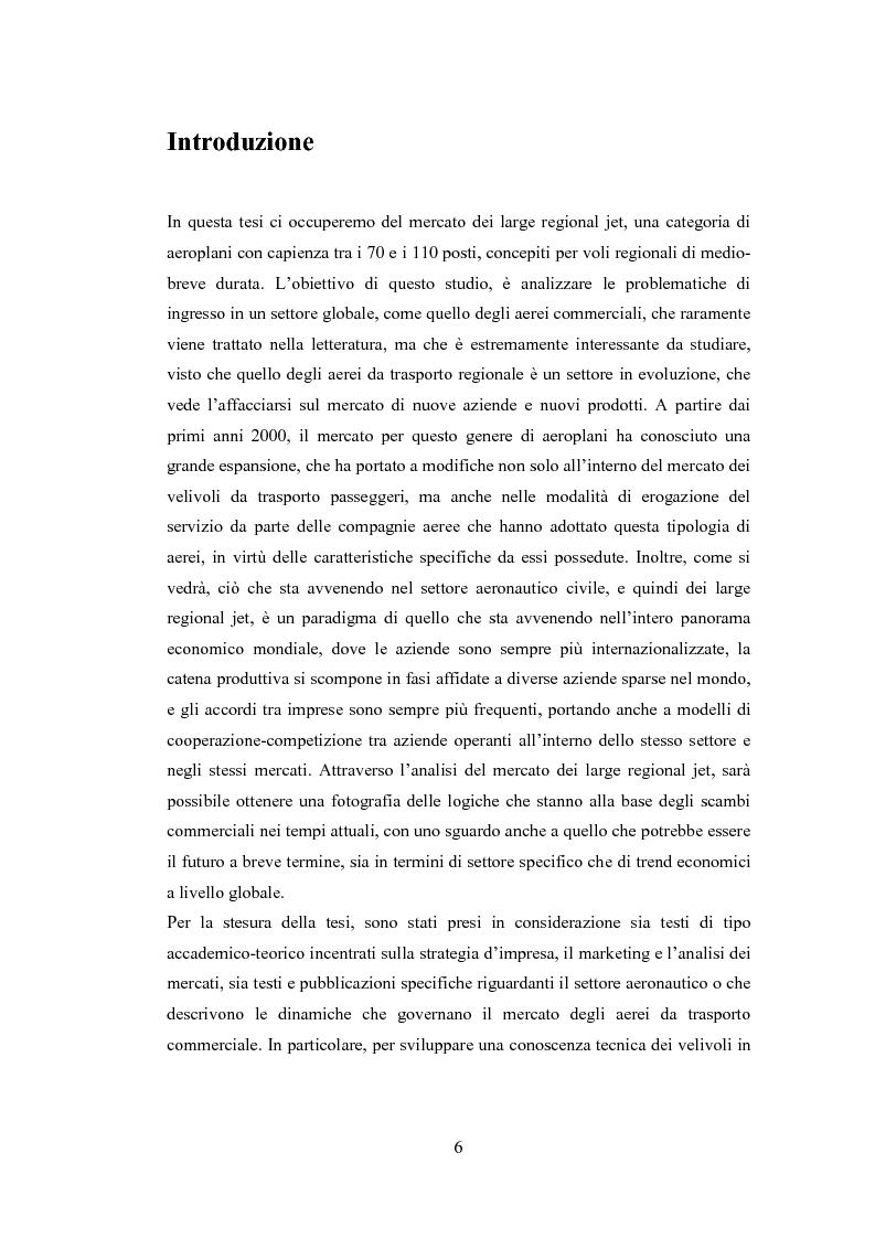 Anteprima della tesi: Strategie di ingresso nei contesti globali: il caso Superjet, Pagina 1