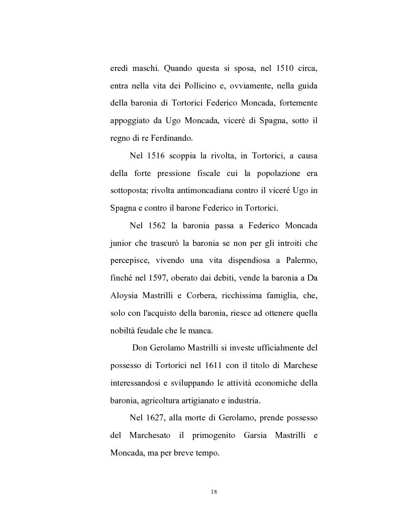 Anteprima della tesi: Le caratteristiche strutturali dell'economia agricola in Tortorici, Pagina 11