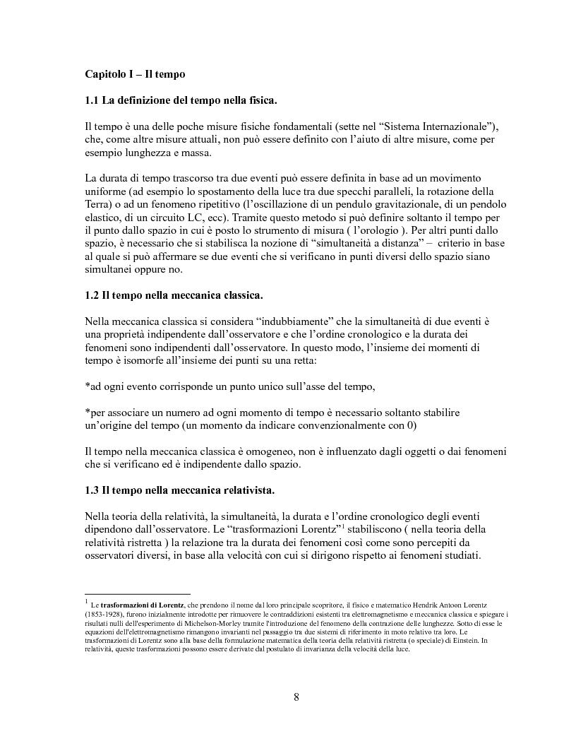 Anteprima della tesi: Pensieri unidirezionali - La guarigione, Pagina 1