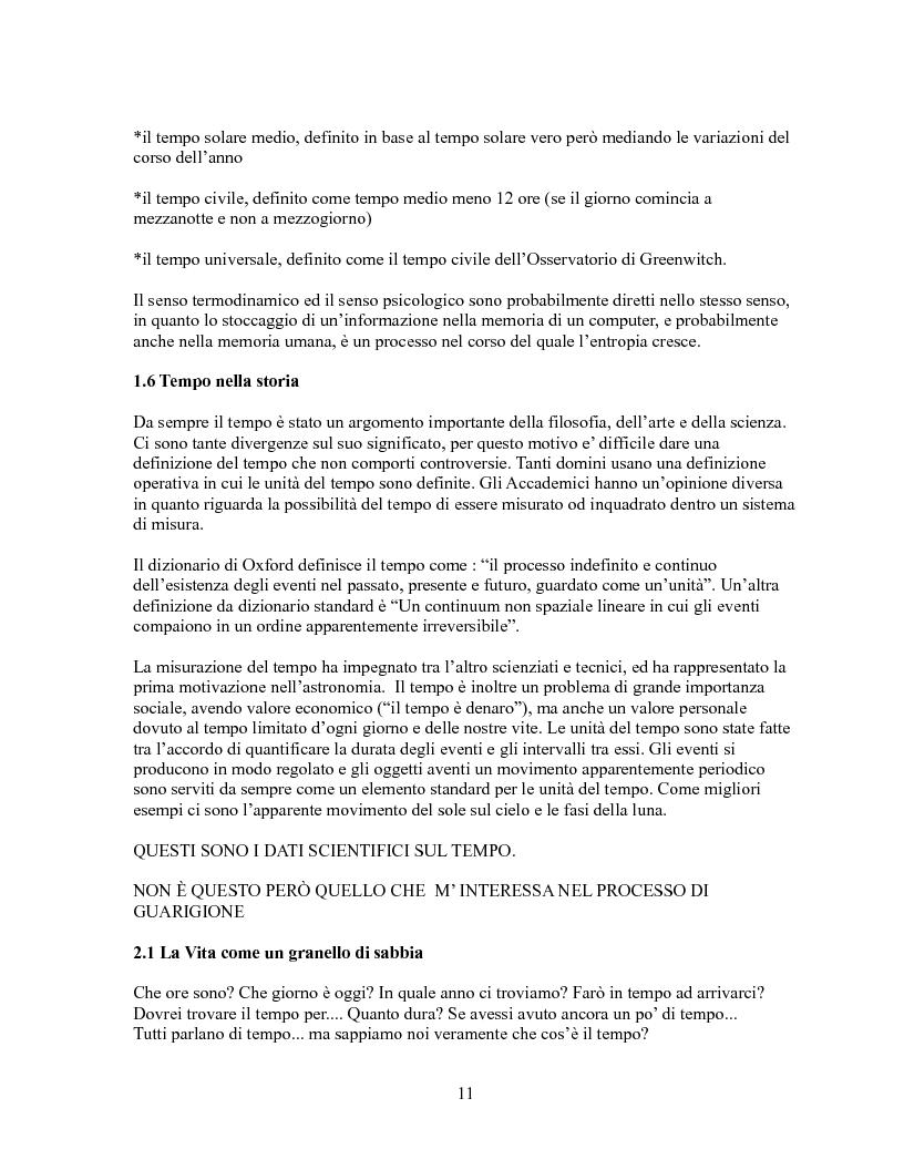 Anteprima della tesi: Pensieri unidirezionali - La guarigione, Pagina 4