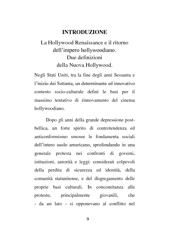 Anteprima della tesi: La Hollywood Renaissance e il boom del blockbuster. I due volti della Nuova Hollywood., Pagina 1