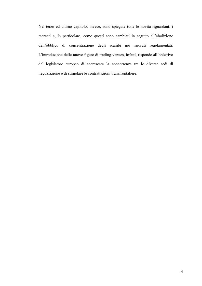Anteprima della tesi: Il MiFID, Pagina 2