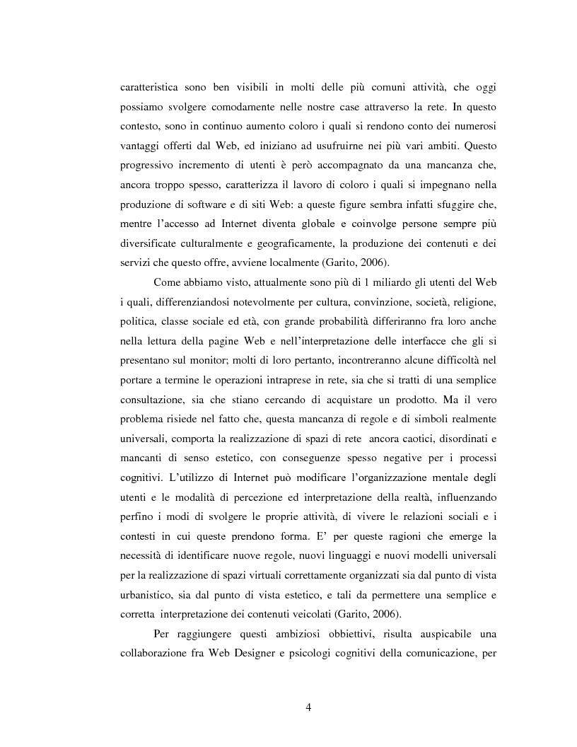 Anteprima della tesi: L'utilizzo del colore nella realizzazione di siti Web, Pagina 2
