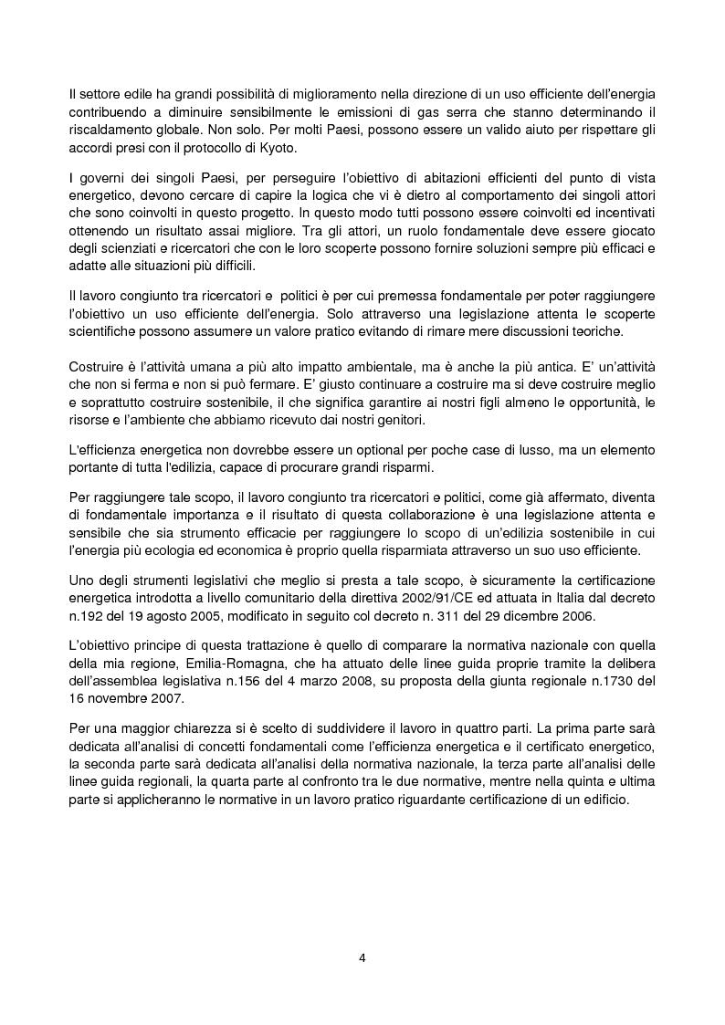 Anteprima della tesi: La certificazione energetica in Emilia-Romagna, Pagina 2