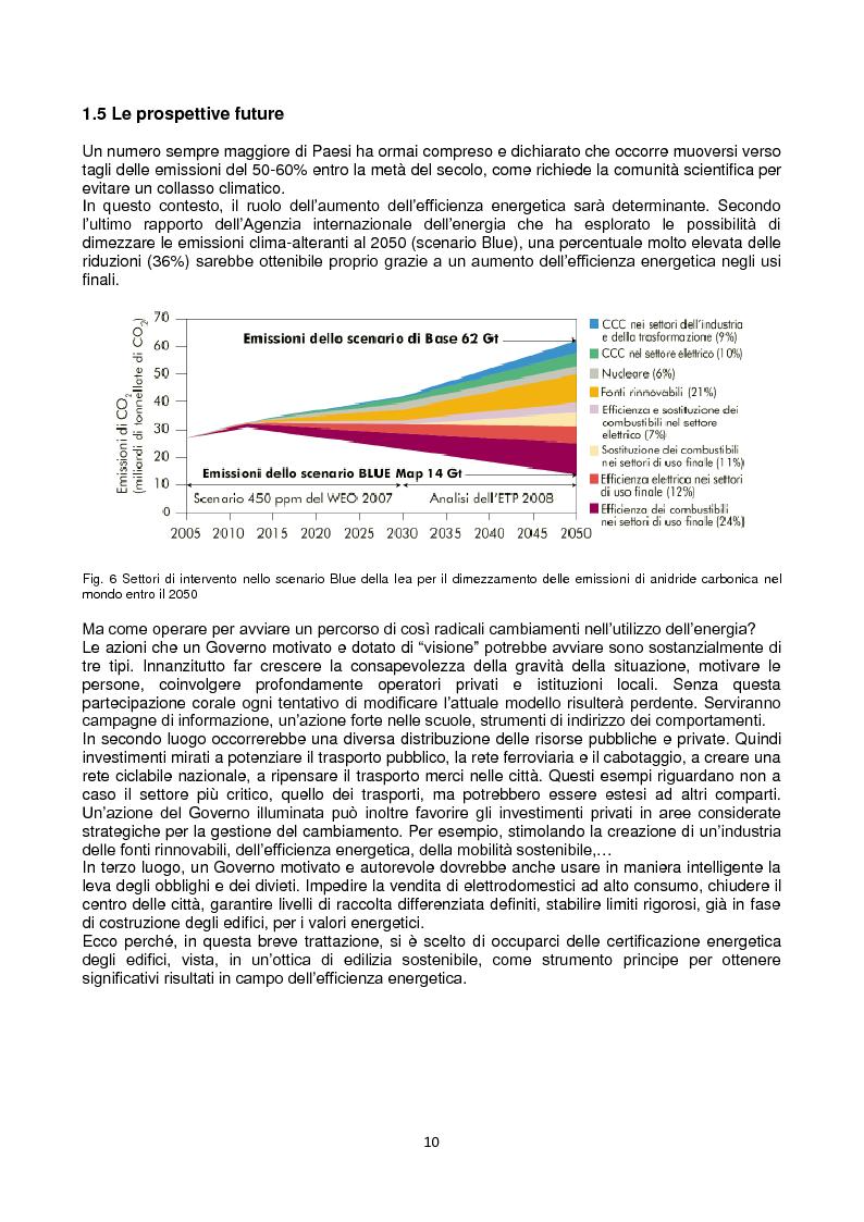 Anteprima della tesi: La certificazione energetica in Emilia-Romagna, Pagina 8