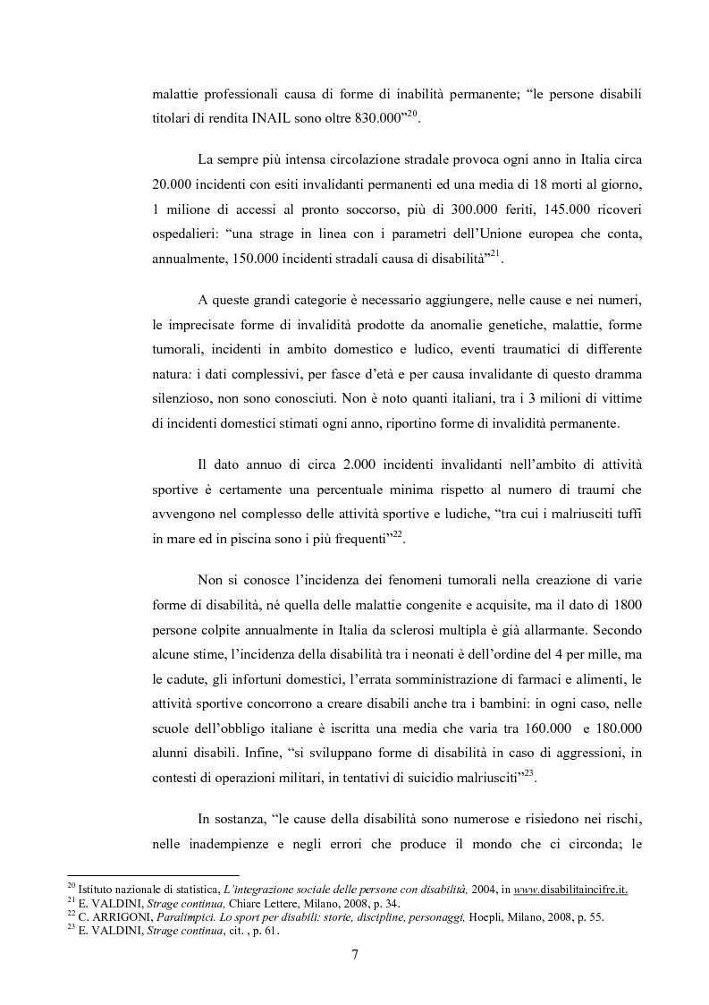 Anteprima della tesi: Il diritto al rispetto della vita familiare delle persone disabili , Pagina 7