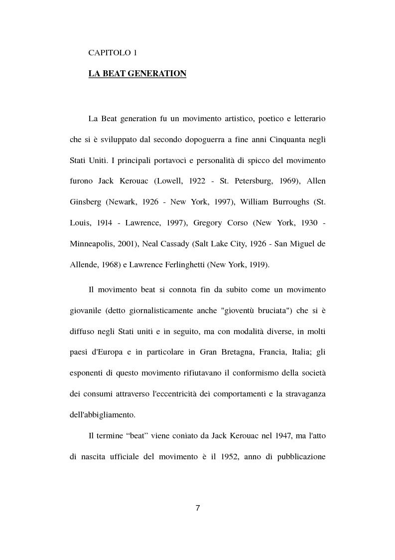Anteprima della tesi: Gianni e Gli Avvoltoi - Reinventare il Beat nel Terzo Millennio, Pagina 1