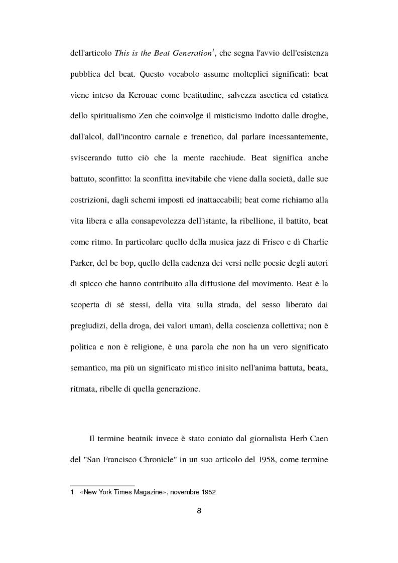Anteprima della tesi: Gianni e Gli Avvoltoi - Reinventare il Beat nel Terzo Millennio, Pagina 2