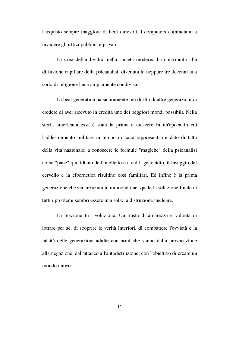 Anteprima della tesi: Gianni e Gli Avvoltoi - Reinventare il Beat nel Terzo Millennio, Pagina 5