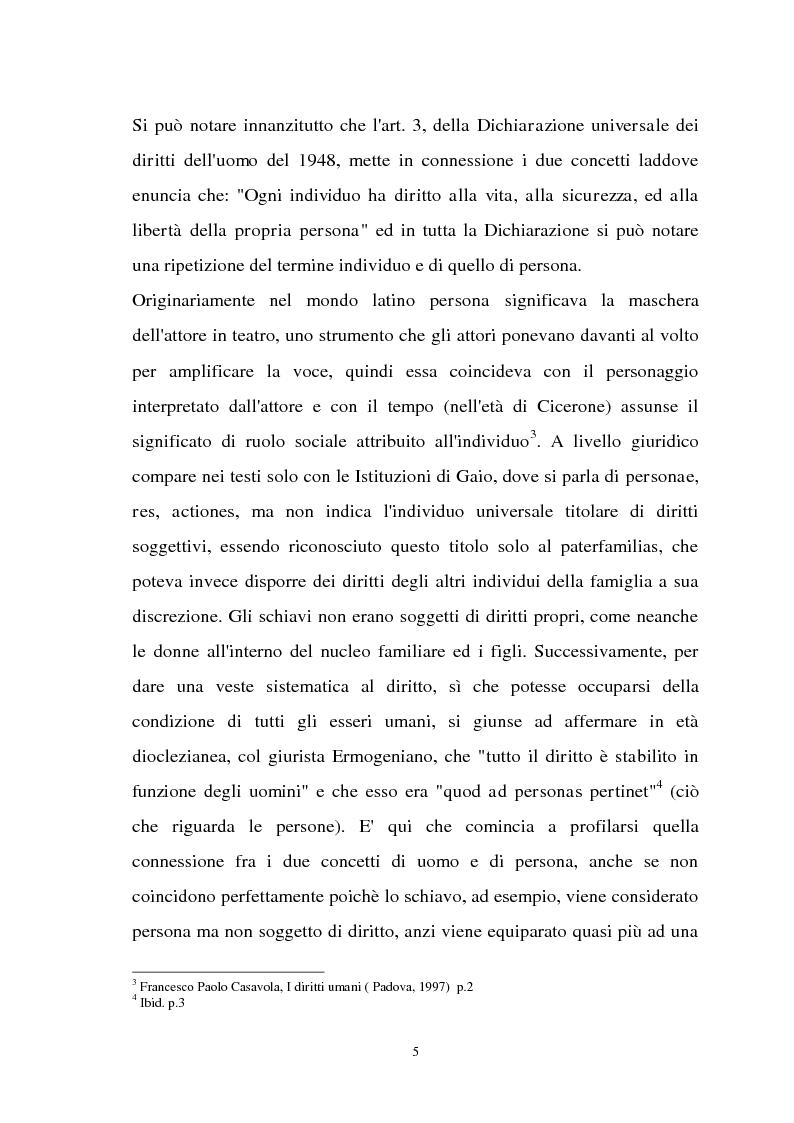 Anteprima della tesi: Diritti individuali e collettivi nella società multiculturale, Pagina 3