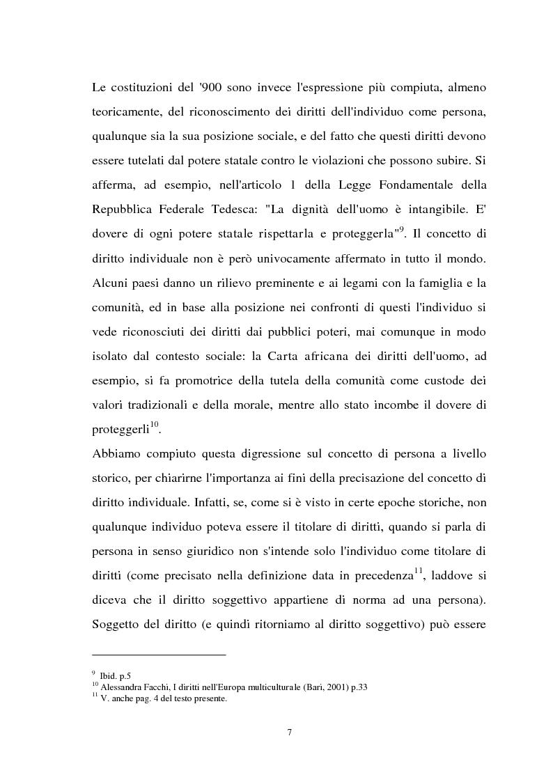 Anteprima della tesi: Diritti individuali e collettivi nella società multiculturale, Pagina 5