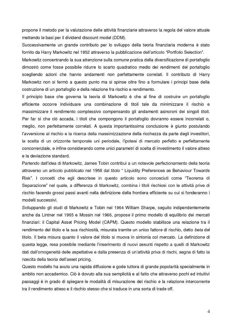 Anteprima della tesi: La liquidità nei modelli di asset pricing, Pagina 2