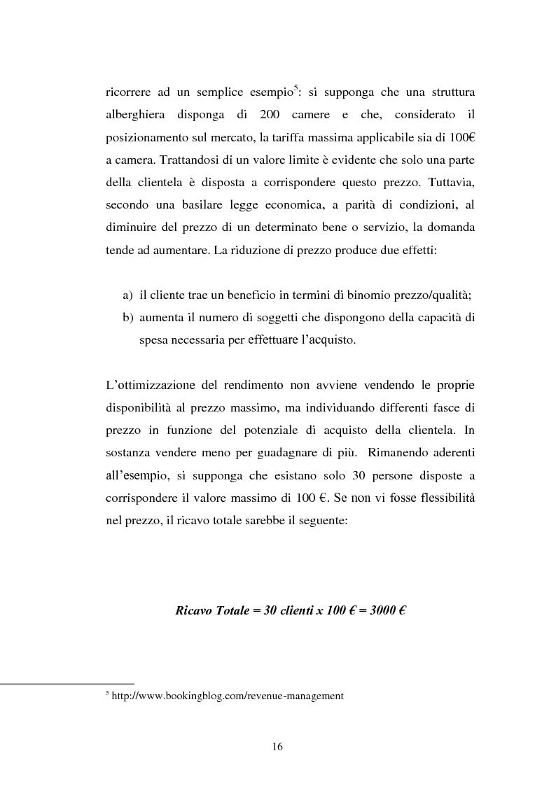Anteprima della tesi: Lo Yield Management nel settore turistico ricettivo: il caso Hotel da Vinci, Pagina 13