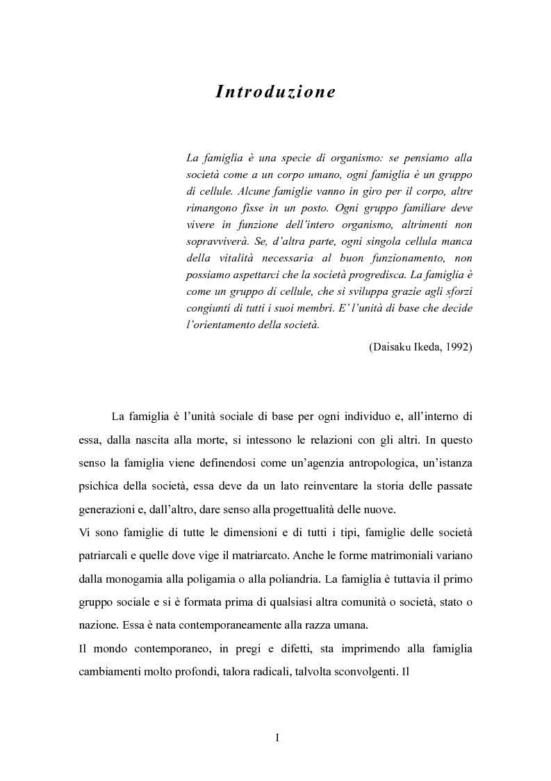 Anteprima della tesi: Il padre affidatario - Un percorso esplorativo tra nuovi assetti familiari e intrecci intergenerazionali, Pagina 1