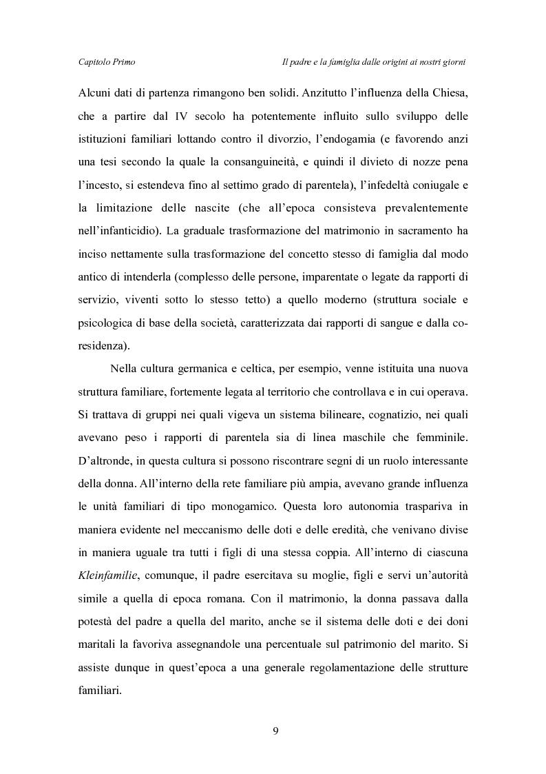 Anteprima della tesi: Il padre affidatario - Un percorso esplorativo tra nuovi assetti familiari e intrecci intergenerazionali, Pagina 13
