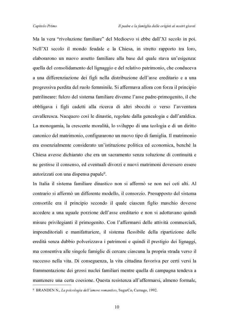 Anteprima della tesi: Il padre affidatario - Un percorso esplorativo tra nuovi assetti familiari e intrecci intergenerazionali, Pagina 14
