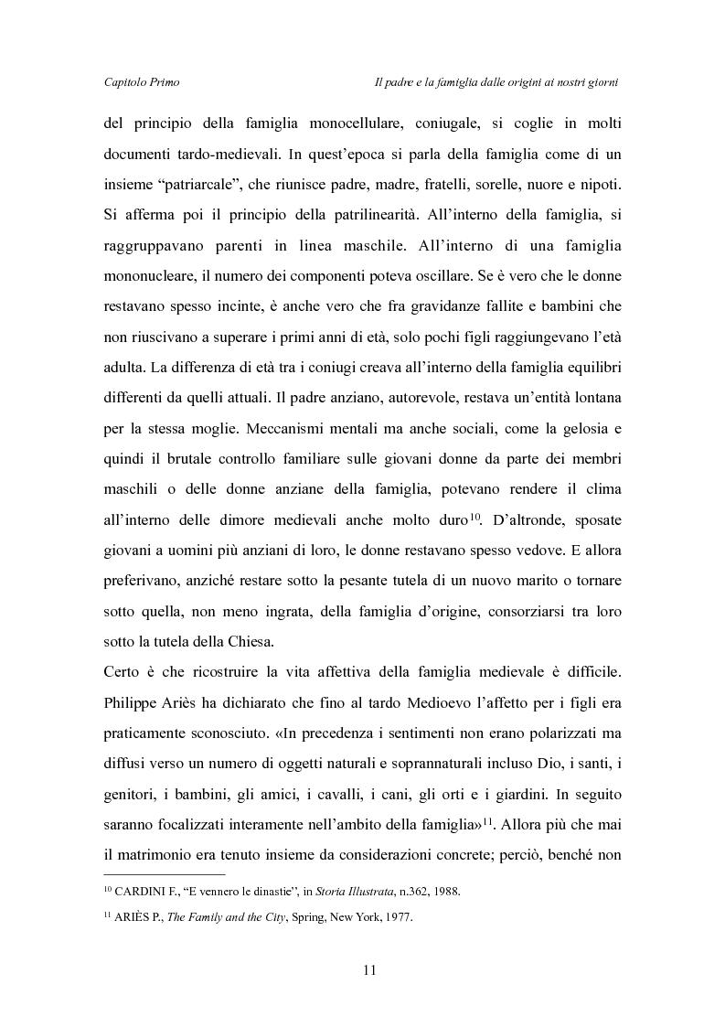 Anteprima della tesi: Il padre affidatario - Un percorso esplorativo tra nuovi assetti familiari e intrecci intergenerazionali, Pagina 15