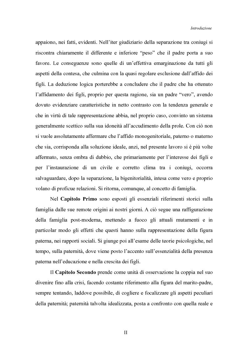 Anteprima della tesi: Il padre affidatario - Un percorso esplorativo tra nuovi assetti familiari e intrecci intergenerazionali, Pagina 3