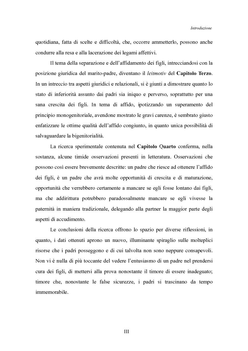 Anteprima della tesi: Il padre affidatario - Un percorso esplorativo tra nuovi assetti familiari e intrecci intergenerazionali, Pagina 4