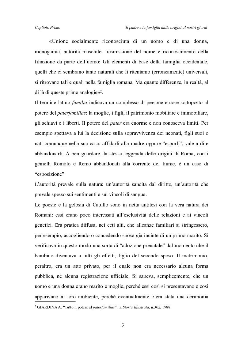 Anteprima della tesi: Il padre affidatario - Un percorso esplorativo tra nuovi assetti familiari e intrecci intergenerazionali, Pagina 7