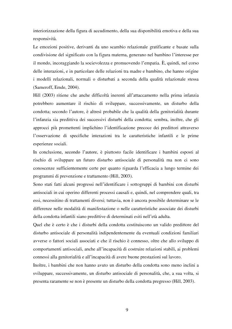 Anteprima della tesi: Disturbi del comportamento, fenomeni aggressivi e fattori di rischio. Un'indagine della corrispondenza tra letteratura e dati clinici di un'ASL del Piemonte., Pagina 14