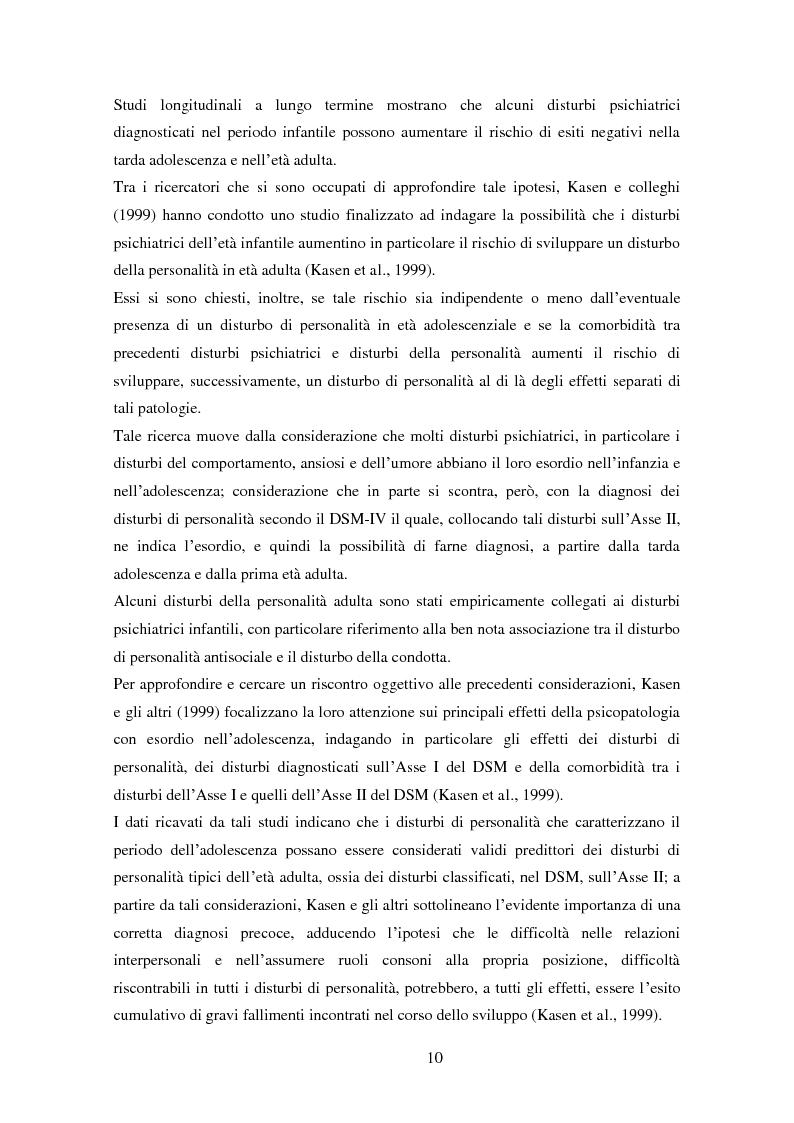 Anteprima della tesi: Disturbi del comportamento, fenomeni aggressivi e fattori di rischio. Un'indagine della corrispondenza tra letteratura e dati clinici di un'ASL del Piemonte., Pagina 15