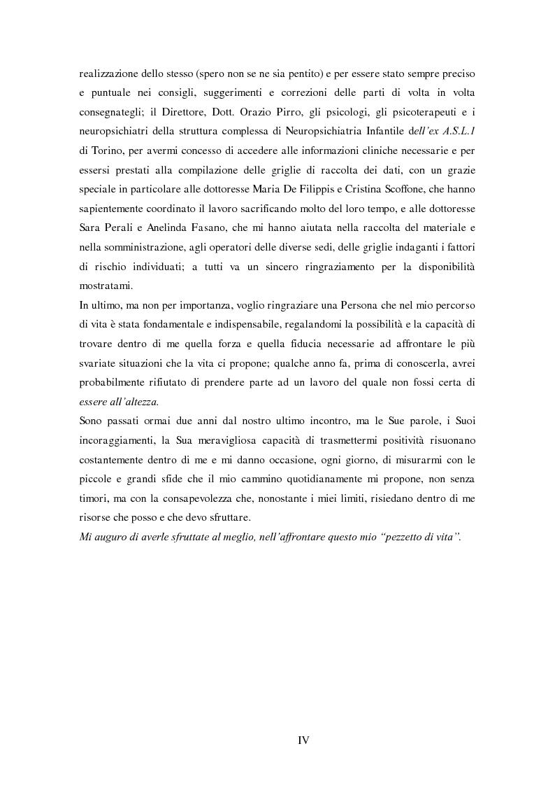 Anteprima della tesi: Disturbi del comportamento, fenomeni aggressivi e fattori di rischio. Un'indagine della corrispondenza tra letteratura e dati clinici di un'ASL del Piemonte., Pagina 4