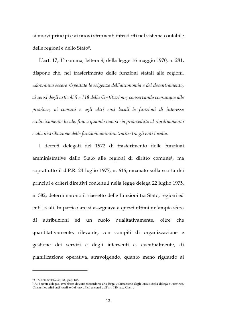 Anteprima della tesi: La decisione di bilancio negli Enti Locali, Pagina 10