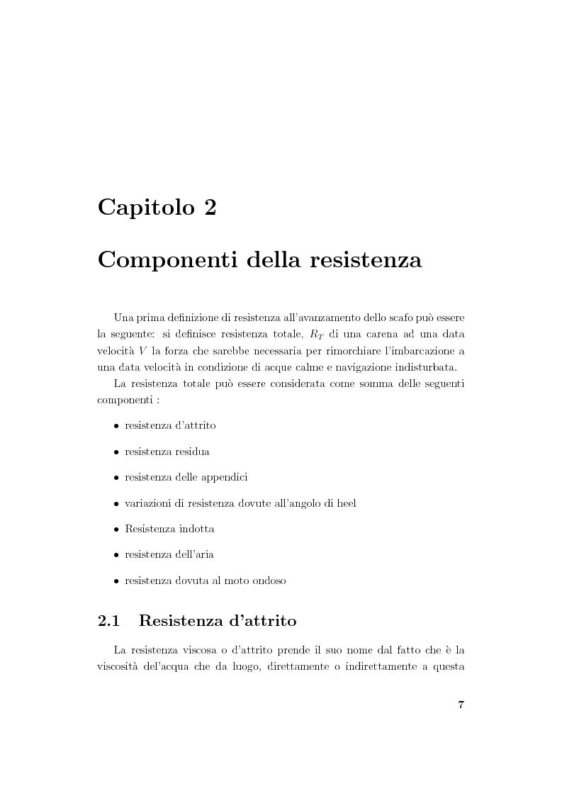 Anteprima della tesi: Modellistica di carene e propulsori navali, Pagina 7