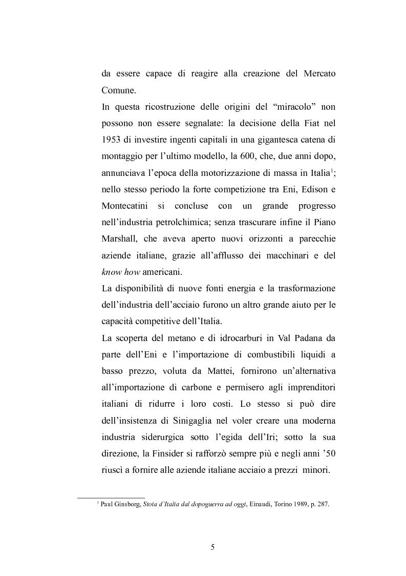 Anteprima della tesi: Una modernizzazione incompiuta. Pasolini e la rivoluzione dei consumi in Italia., Pagina 2